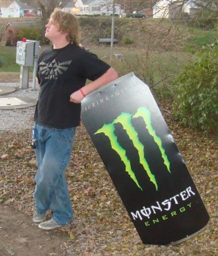 leaning Monster