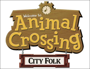 animal crossing city folk logo